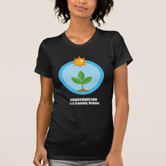 Conservation is a Family Value Tshirt