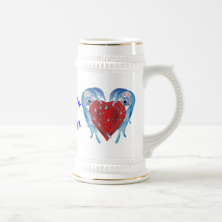 Conservation logo Customize All Styles 18 Oz Beer Stein