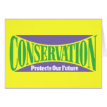 Conservation Preserves Us All Cards