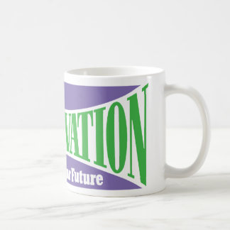 Conservation Preserves Us All Classic White Coffee Mug