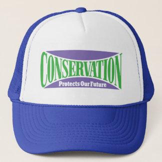 Conservation Preserves Us All Trucker Hat