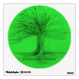 Conservation - Save Our Trees Wall Skin