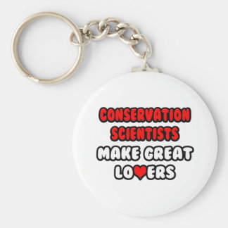 Conservation Scientists Make Great Lovers Key Chains