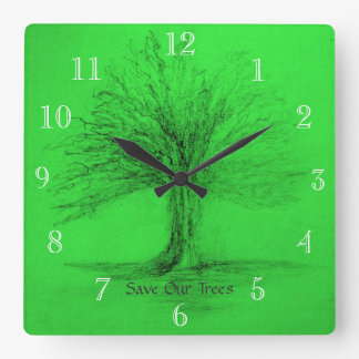Conservation Wall Clock