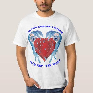 Conservation Water logo Men T-shirt