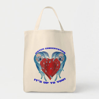 Conservation Water logo Tote Bag
