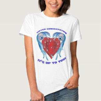Conservation Water logo Women Shirt