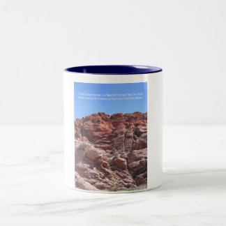 Conservationist Two-Tone Coffee Mug