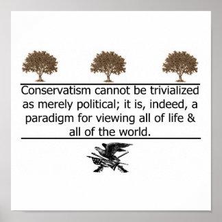 Conservatism Defined Print