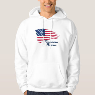 Conservative American Hooded Sweatshirt