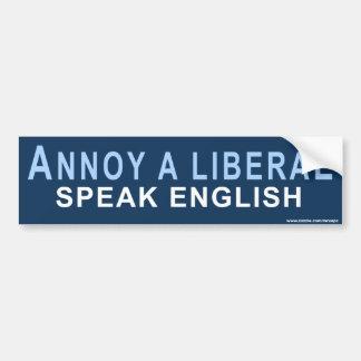 "Conservative ""Annoy A Liberal"" Sticker Car Bumper Sticker"
