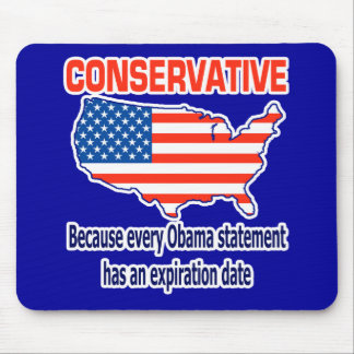 Conservative - Anti Obama Mouse Pad