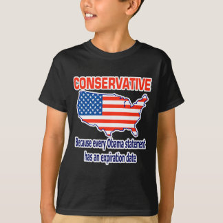 Conservative - Anti Obama T-Shirt