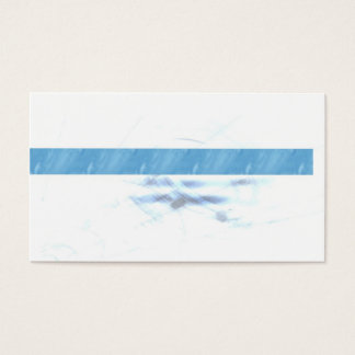 Conservative Blue Business Card