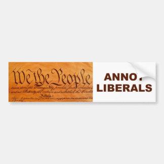 conservative bumper sticker car bumper sticker