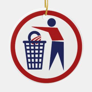 COnservative Ceramic Ornament
