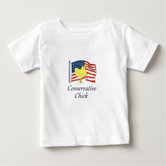 Conservative Chick Baby T-Shirt