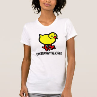 Conservative Chick, Ladies T-shirt
