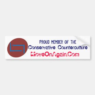 Conservative Counterculture Sticker