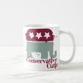 Conservative Cutie Coffee Mug
