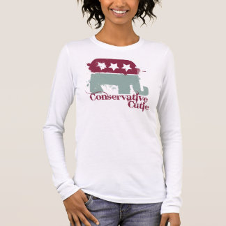 Conservative Cutie Long Sleeve T-Shirt