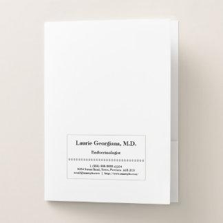Conservative Endocrinologist Pocket Folder