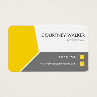 Conservative gold customize-able business cards