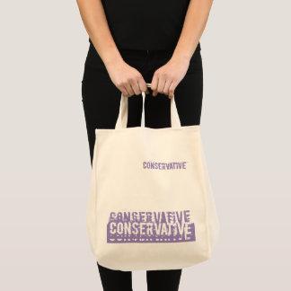 Conservative Grunge  Purple Tote Bag