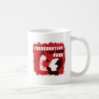 Conservative Is the New Punk Coffee Mug