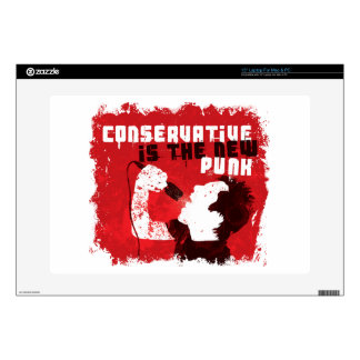 Conservative Is the New Punk Decals For Laptops