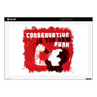 Conservative Is the New Punk Laptop Decals