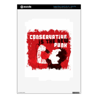 Conservative Is the New Punk Skin For iPad 3