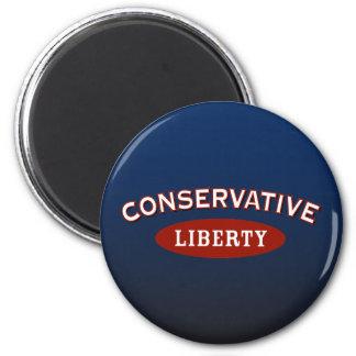 Conservative.  Liberty. Magnet