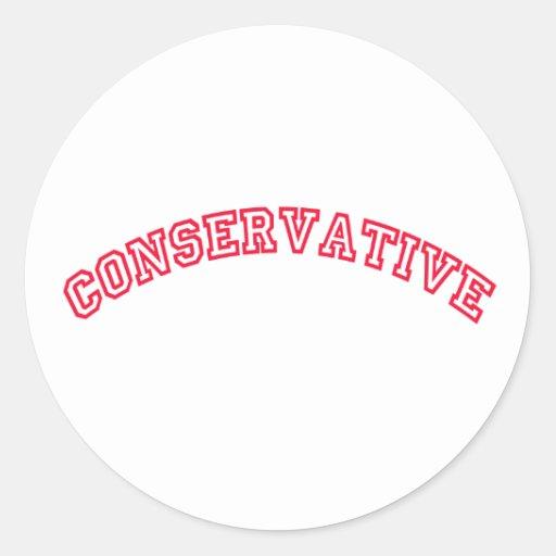 Conservative Logo Stickers