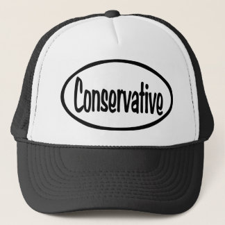 Conservative Oval Trucker Hat