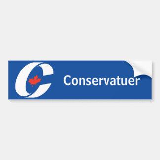 Conservative Party Canada Bumper Sticker