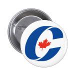Conservative Party Logo Button