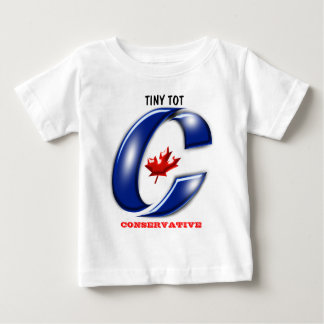 Conservative Party of Canada Political Merchandise Infant T-shirt