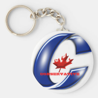 Conservative Party of Canada Political Merchandise Keychain