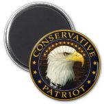 Conservative Patriot 2 2 Inch Round Magnet