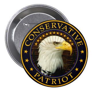 Conservative Patriot 2 Pinback Button