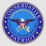 Conservative Patriot Sticker