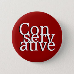 Conservative Pinback Button