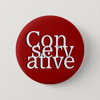 Conservative Pinback Button