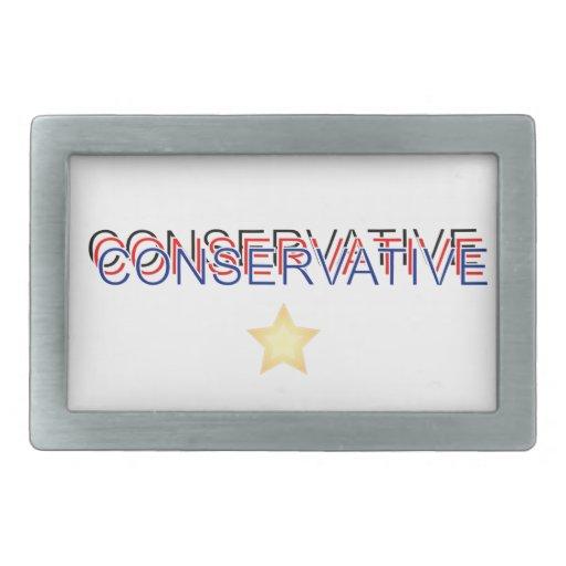 Conservative Proud Rectangular Belt Buckle