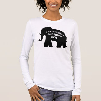Conservative Republican Long Sleeve T-Shirt
