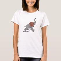 Conservative Republican Woman Elephant T-Shirt