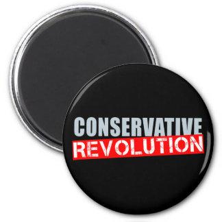 Conservative Revolution 2 Inch Round Magnet