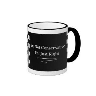 Conservative Right Ringer Coffee Mug