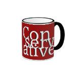Conservative Ringer Coffee Mug